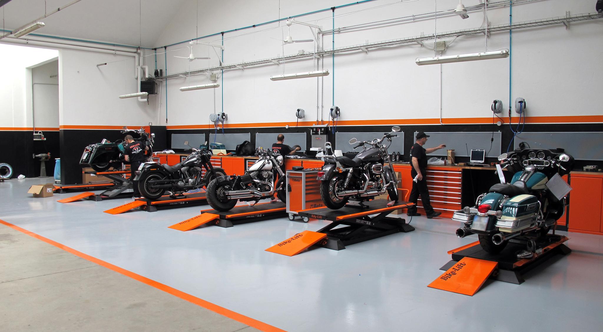 Concessionaria Harley Davidson Gate32 Milano Officina6810