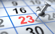 calendar-pushpin-mark-calendar-d-image-43149947